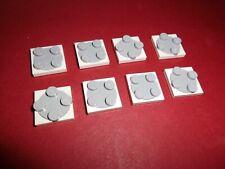 Lego (3680c02) 8 Drehteller 2x2, in weiß/hellgrau aus 8781 8681 4032 10134 7753