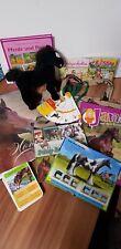 Set Kinder Pferdeliebhaber Bastelbuch Bücher Plüschtier Tasche Hörspiel Ordner