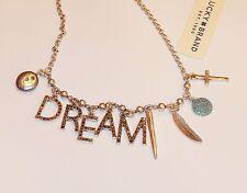 Authentic Lucky Brand Dream Letter Charm  Bracelet, nwt