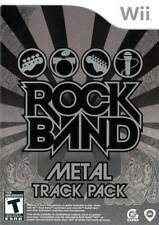 Rock Band: Metal Track Pack WII New Nintendo Wii