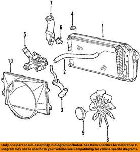 FORD OEM 97-02 E-150 Econoline Club Wagon Radiator Coolant-Lower Hose YC2Z8286HA