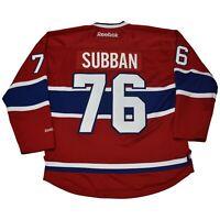 Montreal Canadiens Reebok Premier Jersey - PK Subban of the Predators and Devils
