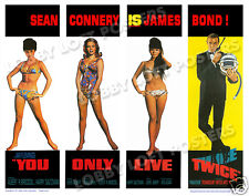YOU ONLY LIVE TWICE LOBBY SCENE CARD POSTER # 9 1967 SEAN CONNERY JAMES BOND 007