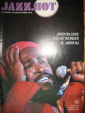 JAZZ HOT N° 332 MARVIN GAY STEVIE WONDER AL JARREAU 1976