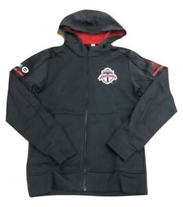 Adidas MLS Toronto FC Travel Jacket Gray/Red CF0056