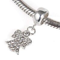 ANGEL DANGEL Genuine 925 Sterling Silver Charm Bead Fits European Bracelet