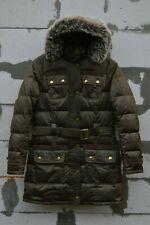 Barbour Womens Olive Arctic Down Parka Size 36