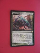MTG CARTE LAUNCH DEADBRIDGE GOLIATH (FRENCH GOLIATH DE MORTEPONT) NM FOIL