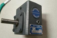 BOSTON GEAR 0.86 INPUT HP 281 TORQUE ISO 9002 SPEED REDUCER, 713-10-J *NEW*