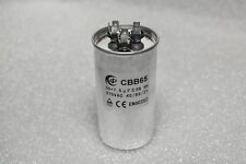 HVAC motor start capacitor 370VAC 55+7.5uF 40/85/21 - USA Seller