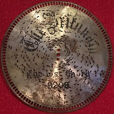 """Antique Britannia/Imperial """"Smokers Cabinet"""" Music Box Disc 9� #9209 Lost Chord"""