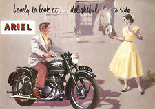 1953 Ariel motorcycles poster