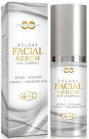 Retinol + Hyaluronic Acid & Vitamin C Anti-Aging Wrinkle GEL-CREAM Serum
