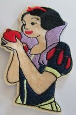 SNOW WHITE EMBROIDERED PATCH SEW/IRON ON BRAND NEW ~USA SELLER~