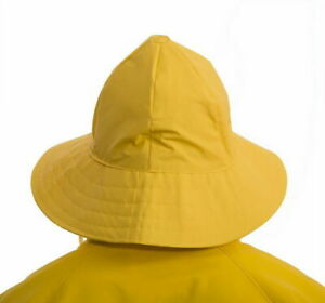 Tingley #H53237 Rain Hat Yellow Nautical Protective Weather Gear Boating M L XL