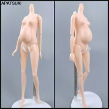 """Pregnant Jointed Body Newborn Baby For 11.5"""" BJD Dolls Accessories Toys 1/6 Gift"""