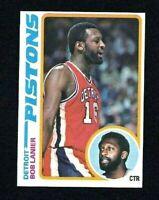 NMT 1978 Topps Basketball #125 Bob Lanier HOF.