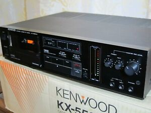 Kenwood KX-550HX Tape Deck HX PRO in FAB condition ! Dolby B/C HX PRO