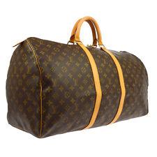 LOUIS VUITTON KEEPALL 55 TRAVEL HAND BAG PURSE MONOGRAM M41424 FL0063 RK14111