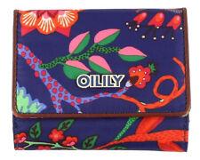 Oilily Flap Wallet Geldbörse Geldbeutel Blau Navy