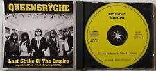 MEGA RARE!! QUEENSRYCHE Last Strike Of The Empire CD, 1990, Bootleg, Live