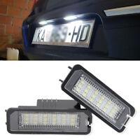 2x LED Kennzeichenbeleuchtung für VW, PORSCHE, SEAT, SKODA - SEHR VIELE MODELLE