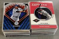 HUGE Ichiro Lot Of 84 Diff SP Variation Insert Numbered Jersey Relic 2001-2020