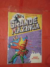 IL GRANDE MAZINGA N°5  COLORI DEL 1979 EDIZIONE FABBRI RAGGIO PETTORALE MAZINGER