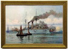 Blockade von Venezuela, 1902, edel gerahmt
