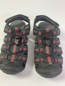 KHOMBU Youth Waterproof Sport Sandals Size 1 Soft Footbed Ankle Strap 962653