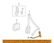 HONDA OEM 03-07 Accord Front Seat Belt-Buckle 04816SDAA72ZA
