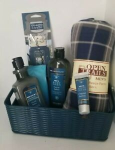 ♤ HAPPY Father's Day Birthday Men Care Gentleman Spa & PJ Pants Gift Set