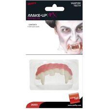 Maquillage de scène blancs en vampire pour déguisements et costumes