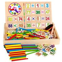 Children Wooden Mathematics Toy Kid Educational Math Calculate Game Toys