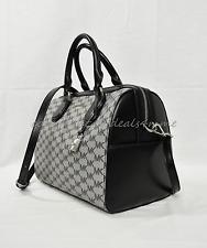 Michael Kors Mercer Signature Medium  Duffle/Satchel/Shoulder Bag in Black/Grey