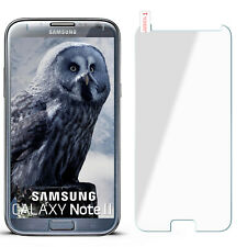 Curb Foil Glass Film for Samsung Galaxy Note 2 Hard Clear New Display Protector