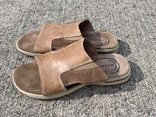 ROCKPORT Buckskin Leather Sandals Fisherman Clogs Mens Shoes Sz 11 ❤️sj17j11