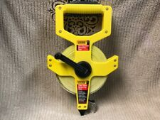 EMPIRE 100' FIBERGLASS MEASURING TAPE #6799 INCH AND ENGINEERS SCALE Ships Free!