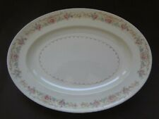 Vintage Oval Serving Platter -The Paden City Pottery Made In USA  Pre-Owned