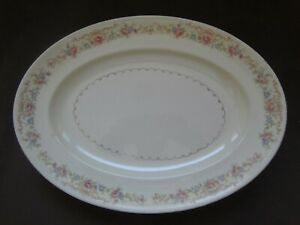Paden City Pottery Vintage Oval Serving Platter Made In USA  Pre-Owned