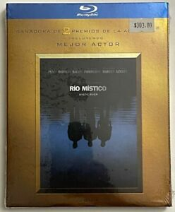 NEW MYSTIC RIVER BLU RAY + RARE OOP GOLD ACADEMY AWARD SLIPCOVER SLEEVE IMPORT