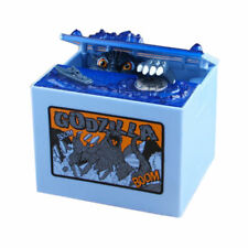 Automated Godzilla Sound Stealing Coin Piggy Bank Money Saving Box Itazura Gift