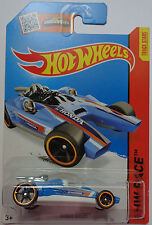 2015 Hot Wheels HW RACE Honda Racer 182/250 (Blue)(Int. Card)