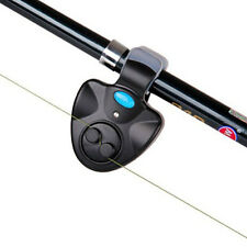 YoLo Black Plastic Running LED Fishing Bite Alarm Outdoor Equipments + Case