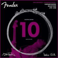 Fender Jimi Hendrix Voodoo Child BULLET-END NICKEL Electric Guitar Strings 10-38