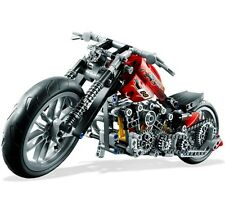 Technics Series 3354 Motorcycle Exploiture Building Blocks 378Pcs FREE SHIPPING