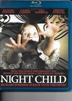 NIGHT CHILD (Blu-Ray) CODE RED Italian Horror LIKE NEW! OOP Out of Print