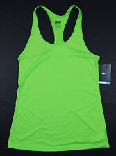 Nike Women's Small - DRY TRAINING TANK TOP - Green 648567 313