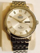 Orient Automatic Water Resist 100M White Dial Stainless Steel watch