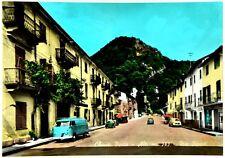 Cartolina Chiusa Pesio - Alt. m. 585 - Via Roma Viaggiata